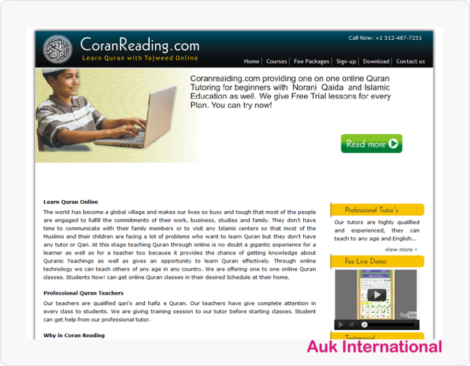CoranReading.com